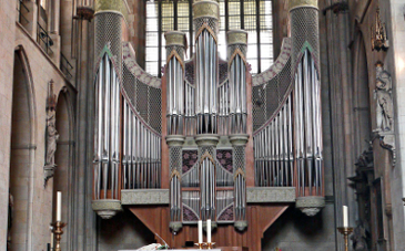 Orgel im St.-Paulus-Dom in Münster